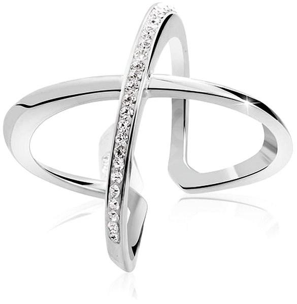 JSB Bijoux Stříbrný prsten Kříž Extramix (925 1000  4 71267ff1737