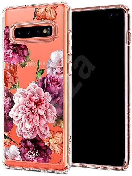Spigen Ciel By CYRILL Cecile Case Rose Samsung Galaxy S10+ - Kryt na mobil