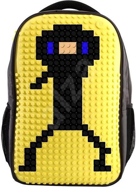 Pixelový batoh 09 žlutý - Batoh  8f14c61519