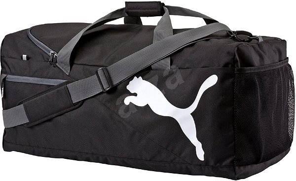 Puma Fundamentals Sports Bag L black - Sportovní taška  b5864d11c8