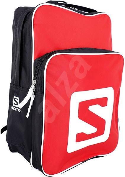 Salomon Squarre Bright red/black - Městský batoh