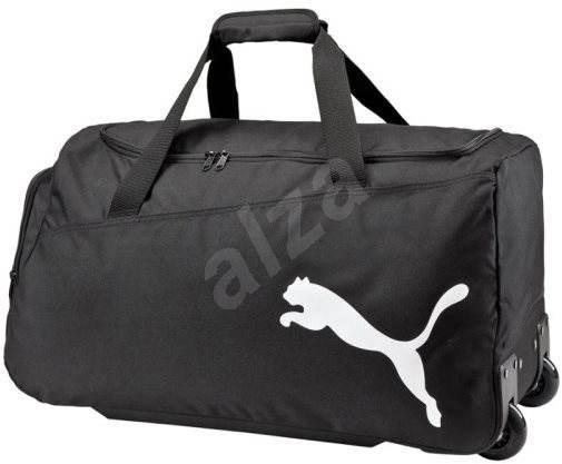 Puma Pro Training Medium Wheel Bag black-black - Sportovní taška ... 62a9700ec036b