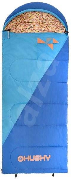 7593a6e900 Husky Kids Milen -5°C modrý - Spací pytel