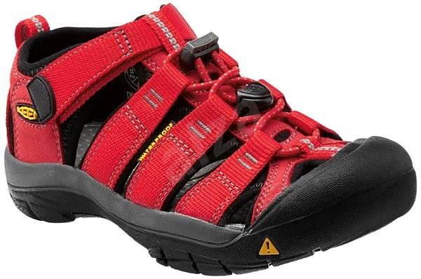Keen Newport H2 Jr ribbon red gargoyle 5 - Sandály  80e2e4a6e04