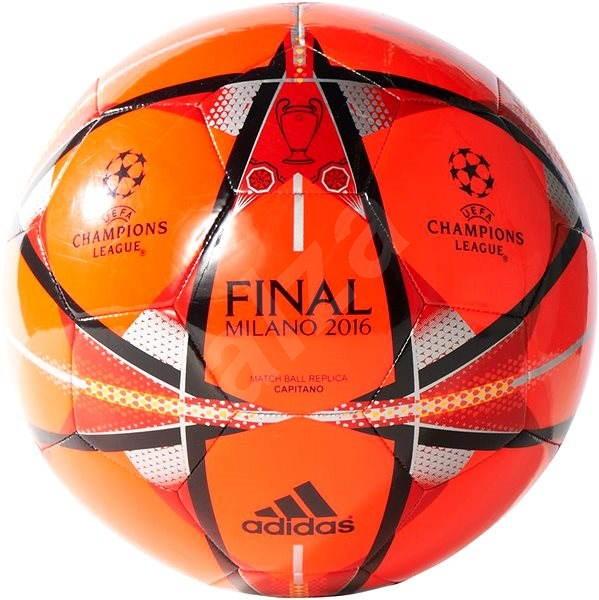 Adidas Finale Milano CAPITANO red - Fotbalový míč