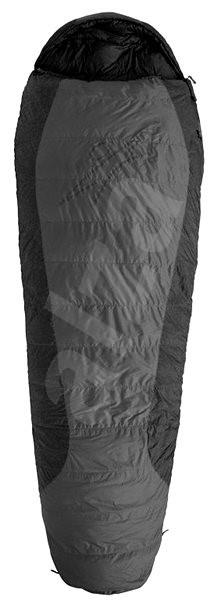Warmpeace Viking 900 180 cm WIDE Levý steel grey/black/black - Spací pytel