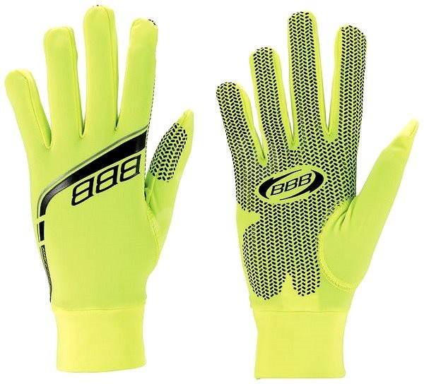 BBB bwg-11 RaceShield neon S - Cyklistické rukavice
