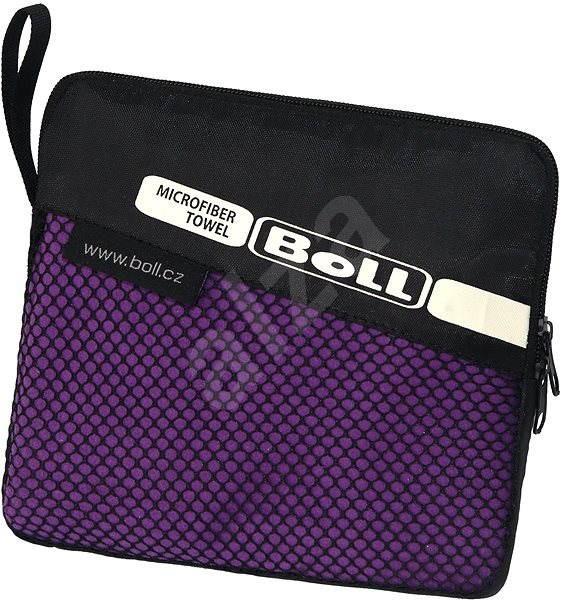 Boll Litetrek towel violet M - Ručník