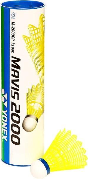 Yonex Mavis 2000 Yellow - Shuttlecock