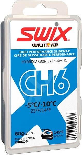 Swix CH6X modrý 60g - Lyžařský vosk