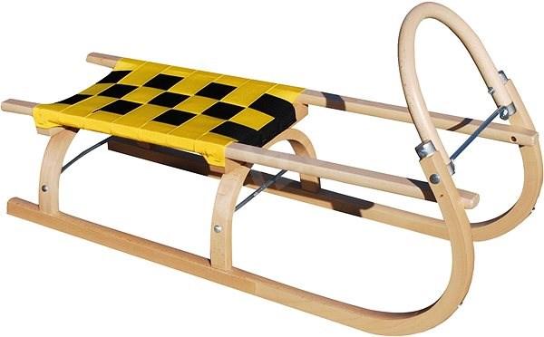 Sulov sled 67, yellow and black - Sledge