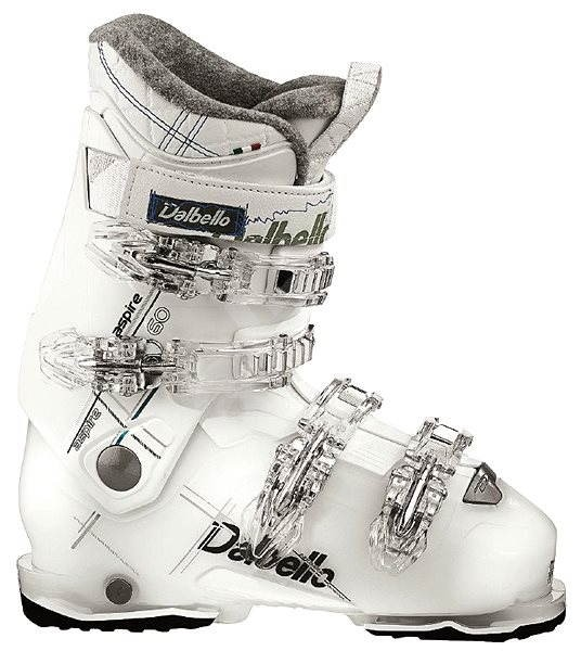 Dalbello Aspire 60 LS Transp White/White 8,5 - Přezkáče