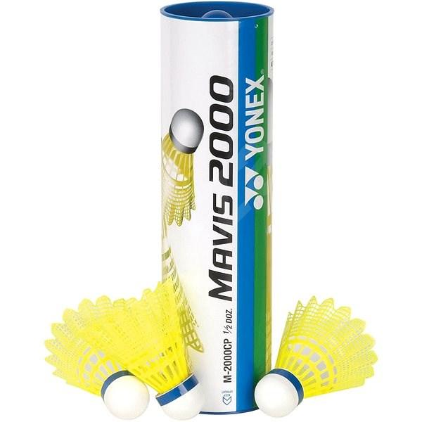 Yonex Mavis 2000 žluté/střední - Badmintonový míč