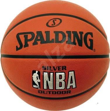 Spalding NBA Silver Outdoor vel. 7 - Basketbalový míč