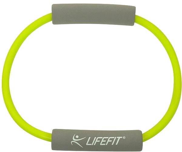 Gumový posilovač Lifefit Rubber Expander Circle světle zelený - Posilovač