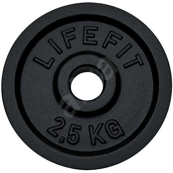 Kotouč Lifefit 2,5 kg / tyč 30 mm - Závaží na činky