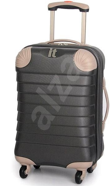 IT Luggage TR-1036/3-S ABS charcoal - Cestovní kufr