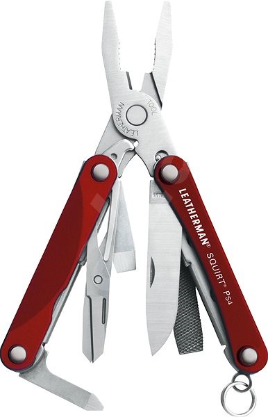 Leatherman Squirt PS4 červený - Multitool