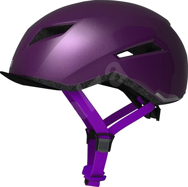 ABUS Yadd-I brilliant purple S - Helma na kolo