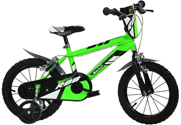 Dino bikes 16 green R88 - Children's Bike