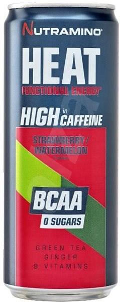 Nutramino HEAT BCAA - strawberry/watermelon - 330ml - Sportovní nápoj