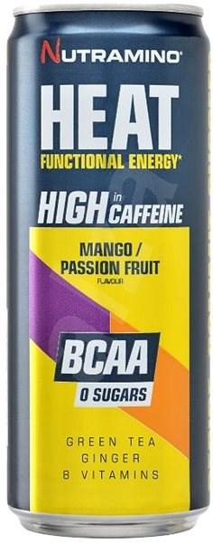 Nutramino HEAT BCAA - mango/passion fruit - 330ml - Sportovní nápoj