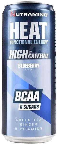 Nutramino HEAT BCAA - blueberry - 330ml - Sportovní nápoj