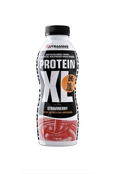 Nutramino Protein XL Recovery Shake strawberry - 500 ml - Proteinový drink