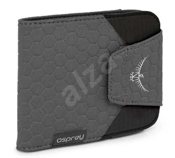Osprey QuickLock RFID Wallet Shadow Grey - Peněženka