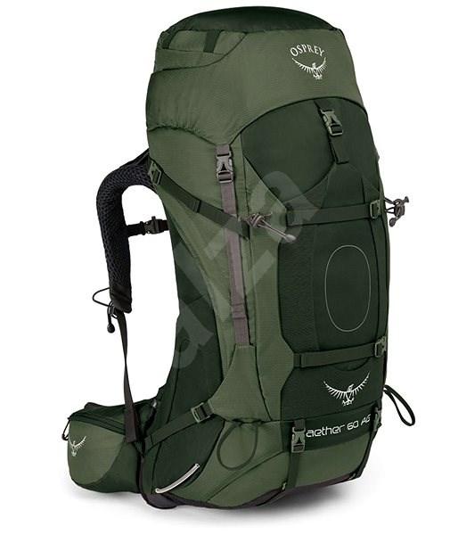 98bf2797b52 Osprey Aether AG 60 Adirondack Green M - Turistický batoh