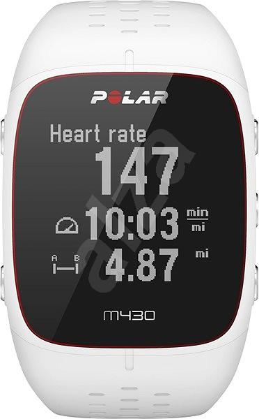 Polar M430 White - Chytré hodinky