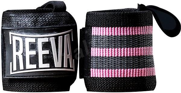 Reeva Elastické bandáže na zápěstí 2.0 pink - Bandáž na zápěstí
