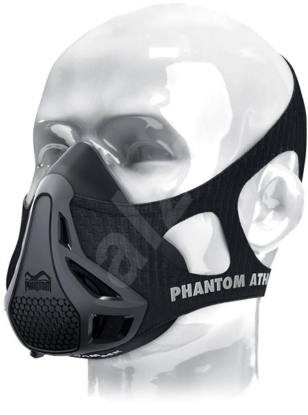 Phantom Training Mask Black/gray S - Tréninková maska