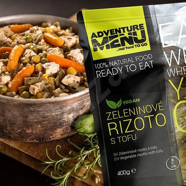 Adventure Menu - Zeleninové rizoto s tofu - Trvanlivé jídlo