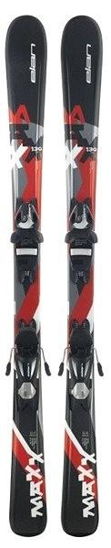 Elan Maxx black/red QS EL 4.5 délka 100 - Dětské sjezdové lyže