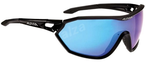Alpina S-Way CM+ black matt - Brýle
