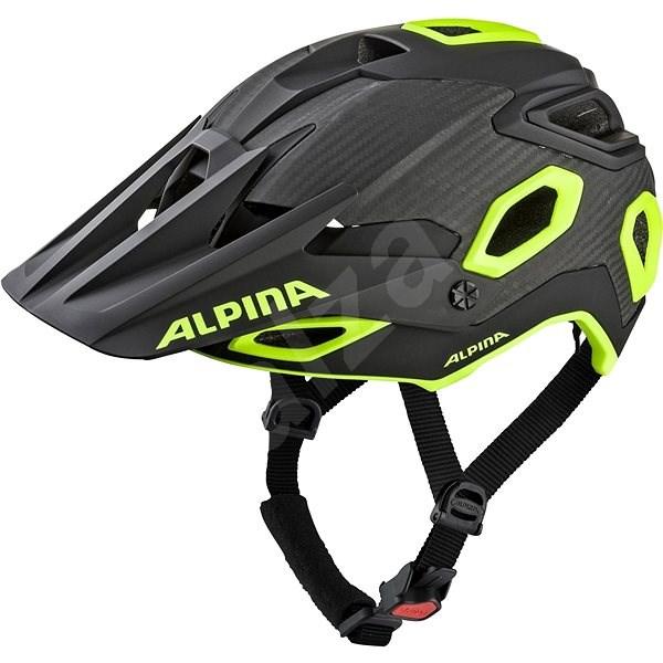 Alpina Rootage černo-žlutá S/M - Helma na kolo