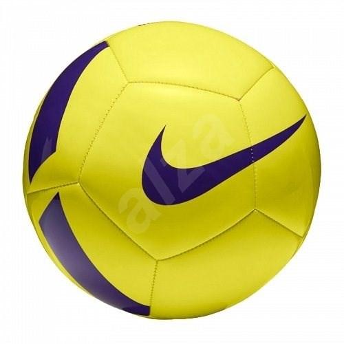 Nike Pitch Team Football, YELLOW/VIOLET, vel. 3 - Fotbalový míč