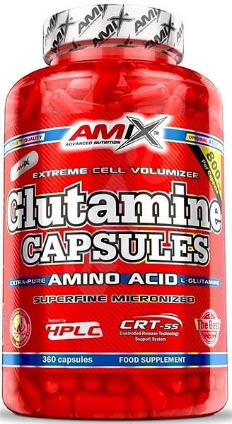 Amix Nutrition L-Glutamin, 360cps - Amino acid