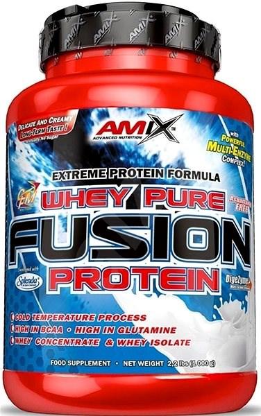 Amix Nutrition WheyPro Fusion, 1000g, Banana - Protein