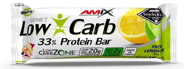 Amix Nutrition Low-Carb 33% Protein Bar, 60g, Lemon-Lime - Proteinová tyčinka