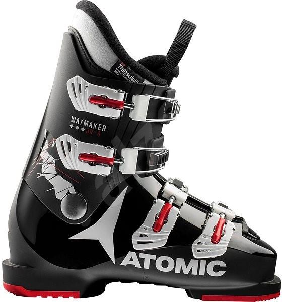 97668f3ee27 Atomic WAYMAKER JR 4 Black White Red - Dětské lyžařské boty
