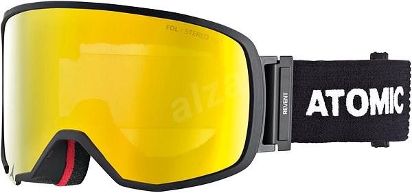 5505521fc Atomic Revent L Fdl Stereo Otg Black - Lyžařské brýle | Alza.cz
