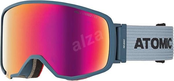 cebe8ba3e Atomic Revent L Fdl Stereo Blue - Lyžařské brýle | Alza.cz