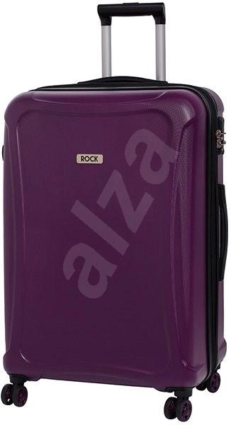 Rock Tectonic TR-0158/3-XL DUR - fialová - Cestovní kufr s TSA zámkem