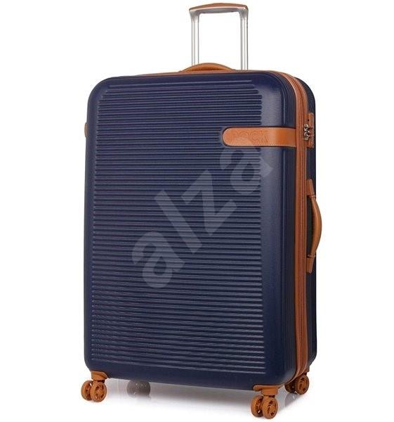 Rock Valiant TR-0159/3-XL ABS - modrá - Cestovní kufr s TSA zámkem