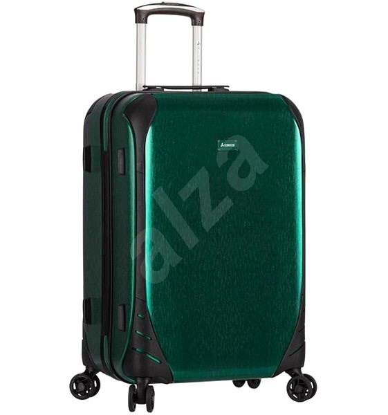Sirocco T-1159 3-L PC zelená - Cestovní kufr s TSA zámkem  5e82b82895