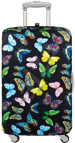 24baa47b2a LOQI Wild Butterflies - Obal na kufr. -13%