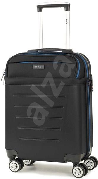 Rock TR-0166/3-S ABS/PES - černá - Cestovní kufr s TSA zámkem