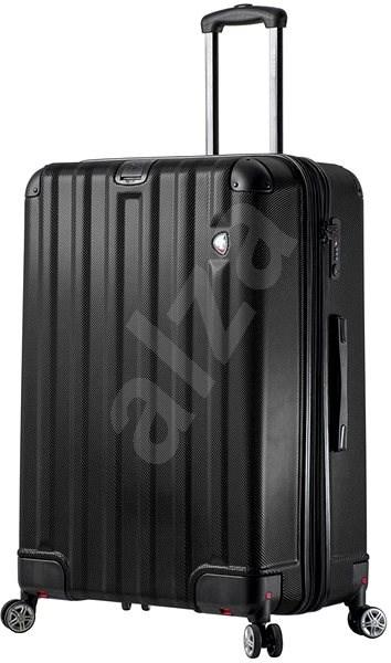 Mia Toro M1300/3-L - černá - Cestovní kufr s TSA zámkem